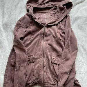 purple american eagle jacket
